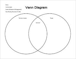 Compare And Contrast Venn Diagram Template 3 Circle Diagram Worksheet Printable Blank Venn Pdf Free