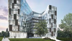 green office building. MilanoFiori NORD Office Building Green N