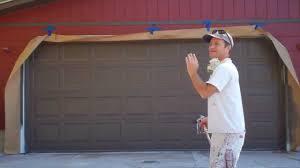 painting garage doorPainting a Garage Door  YouTube