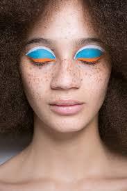 hair and makeup fall 2017 london fashion week