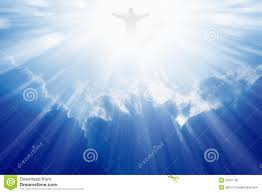 Jesus Is The Light Jesus Christ In Heaven Stock Photo Image Of Mysterious