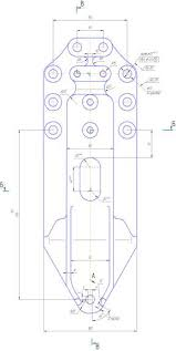Анализ материалов по теме дипломного проекта Анализ соответствия  Данная деталь Кронштейн задний рисунок 1 входит в состав рамы автомобиля МАЗ 500А