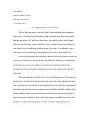 blood diamonds essay nick kavalec tbear individual and society 2 pages sex trafficking video response