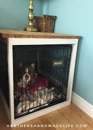 How to make a dog crate Wood Diy Dog Crate Cover heathers Handmade Life Heathers Handmade Life Diy Dog Crate Cover