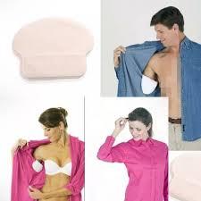 Защита от изпотяване на подмишници. Памучни подплънки за еднократна употреба