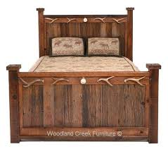 distressed wood bed – Best House Free Decoration