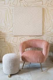 laurel lounge chair by kelly wearstler cavit co kelly wearstler graffito wallpaper