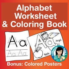 Use the menu at the left to choose right category. Printable Alphabet Worksheet And Coloring Book Bonus 26 Colored Posters