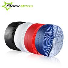 rockbros 1 pair cycling road bike racing bar tape cork eva handlebar 2 plug hand bicycle accessories