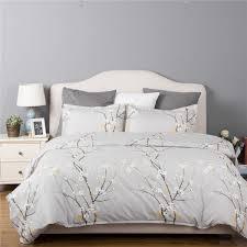 duvet cover set medium weight white fl comforter warmth duvet insert 100 polyester