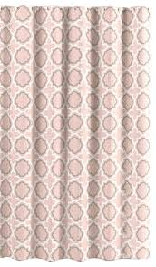 c peach canvas fabric shower curtain quatrefoil moroccan design contemporary shower curtains by curtain call