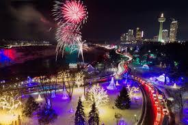 Niagara Falls Holiday Lights Winter Festival Of Lights Event Niagara Falls Canada