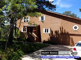 Exterior House Painting Colorado Springs 719 Staining Front