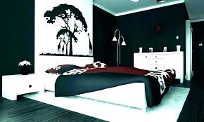 Black White And Red Bedroom Decorating Ideas Black Bedroom Decor ...
