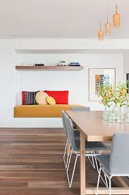 view in gallery rachcoff vella architecture warms up modern homes australia these dining chairs