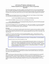 007 Example Of Research Paper In Apa Format 6th Edition Best