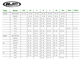 Hjc Helmet Size Chart Hjc Rpha 70 Gadivo 180