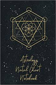 Astrology Natal Chart Notebook Organizer For Blank Star