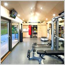 decoration garage gym ideas small throughout design diy uk