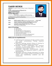 6 Cv For Job Application Sample Emmalbell