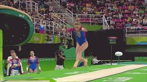 vault gymnastics gif. In GIF: Maria Paseka\u0027s Amanar Vaults At 2016 Rio Olympic Games Vault Gymnastics Gif H