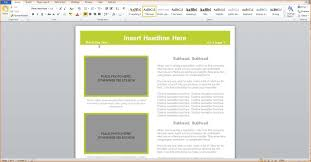 Newsletter Templates Word 2007