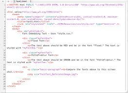 Schriftarten mit DPS Builder in HTML-Artikel und Apps einbetten