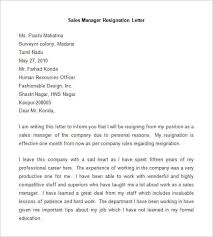 Management Resignation Letter Resignation Letter Format To Manager Irpens Co