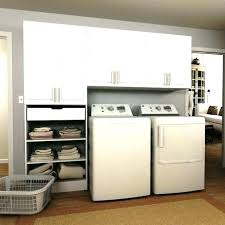 laundry closet washer and dryer master bedroom with room stacked white cabinets stacking cabinet