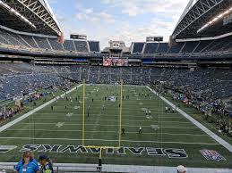 Seahawks Seating Chart Hawks Nest Centurylink Field Section 147 Seattle Seahawks