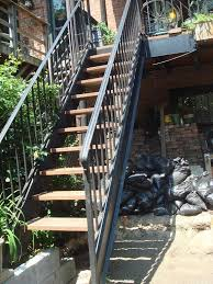Steel staircase. approx 110