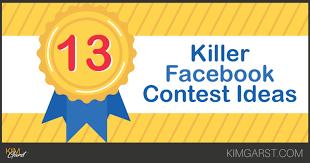 13 Killer Facebook Contest Ideas