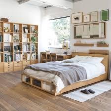 Schlafzimmer Compact Life Muji Avec Bett Mit Stauraum Et Bedroom