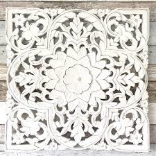 white washed mango wood. Carved Mango Wood White Washed Panel