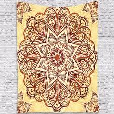 high quality indian mandala tapestry wall hanging blanket beach towel throw bohemian bedspread decor newchic