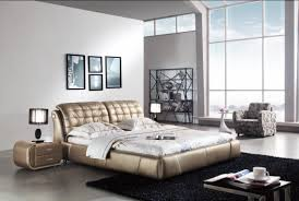 Choose stylish furniture small Table Modern White Wall And Modern Luxury Bed With Small Quirky Seat On The Cream Modern Floor Aprar Simple White Modern Luxury Bed On The Wooden Floor With White Floor