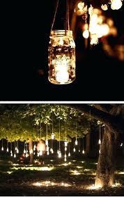 tree lighting ideas. Outdoor Tree Lights Hanging Mason Jar Fairy Wedding Ideas On A . Awesome Inspiration Lighting E