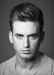mens hairstyles cool haircut short on the sides and longer on top use gel and b it over to the side to create a clic style