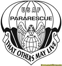 usaf pararescue that others may live on mens short