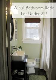 Bathroom Redo Classy Our Bathroom Makeover Reveal A Full Reno For Under 48K Young