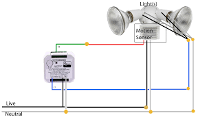 Motion Sensor For Existing Light Outdoor Light Sensor Switch Wiring How To Wire A Motion