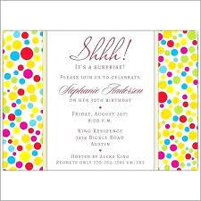 Invitations Surprise Party Guluca