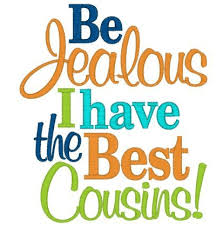 Beautiful Cousin Quotes Best of Beautiful Collection Of Cousin Quotes And Sayings