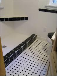 Black And White Flooring Black And White Bathroom Floor Vinyl Best Bathroom 2017