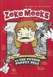 amazon zeke meeks vs the putrid puppet pals 9781404872233 d l green josh alves books children s