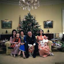 lbj oval office. image lbj and family christmas photo 1968 lbj oval office