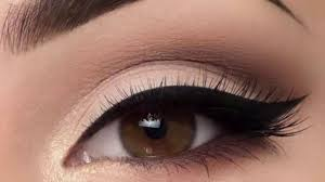 how to apply makeup and eyeliner in urdu