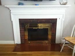 fireplace doors black. best painting fireplace doors black
