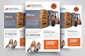 Moving Flyer Template Moving House Flyer Template