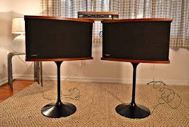 bose 901 vintage. vintage bose 901 series v speakers on tulip bases